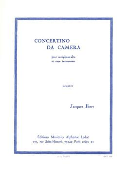 Concertino da Camera (for Alto Sax and Piano) (HL-48180777)