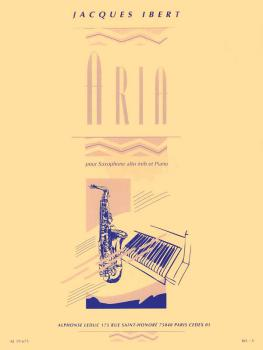 Aria (for Alto Sax and Piano) (HL-48180902)