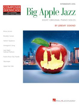 Big Apple Jazz: Composer Showcase Series (HL-00278209)
