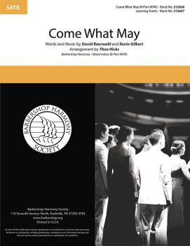 Come What May from the motion picture Moulin Rouge!: 8-part mixed a ca (HL-00283278)