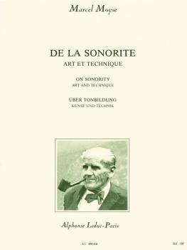 De La Sonorite: Art et Technique: [On Sonority: Art and Technique] (HL-48180574)