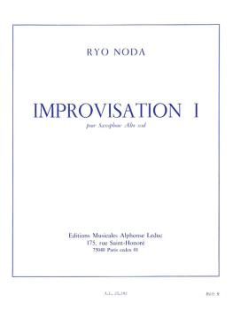 Improvisation I (for Alto Sax) (HL-48183189)