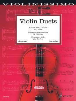 Violin Duets: 30 Duets from 4 Centuries (HL-49045886)
