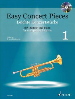 Easy Concert Pieces - Volume 1: 22 Pieces from 5 Centuries Trumpet and (HL-49045891)
