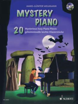 Mystery Piano: 20 Mysterious Easy Piano Pieces Book/CD (HL-49045895)
