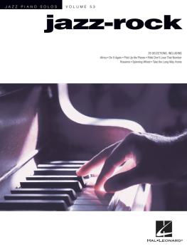 Jazz-Rock: Jazz Piano Solos Series Volume 53 (HL-00256715)