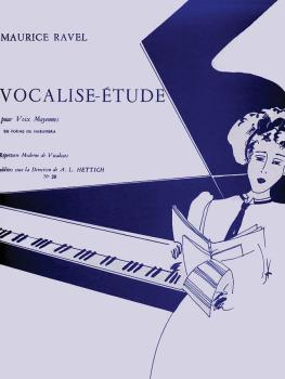 Vocalise-Etude (for Medium Voice and Piano) (HL-48180049)