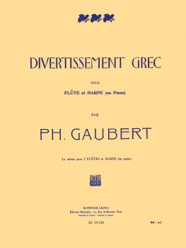 Divertissement Grec (for Flute and Piano or Harp) (HL-48180058)