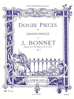 Douze Pieces pour Grand-Orgue, Op. 5: [12 Pieces for Organ, Op. 5] (HL-48180066)