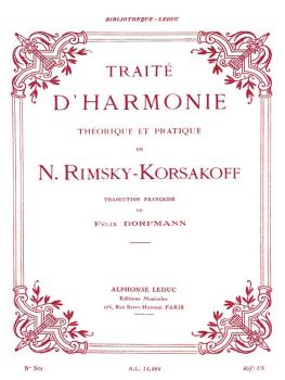 Traité D'Harmonie: [Practical Manual of Harmony] (HL-48180070)