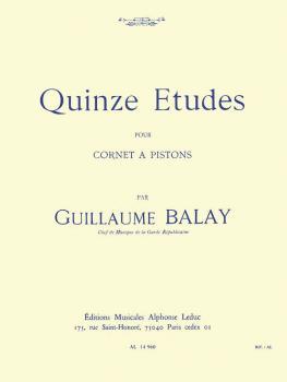 Quinze Etudes pour Cornet A Pistons: [Fifteen Studies for Cornet] (HL-48180081)