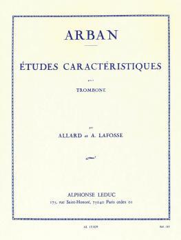 Etudes Caractéristiques pour Trombone: [Characteristic Studies for Tro (HL-48180087)