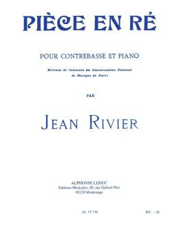 Piéce en Ré (for Double Bass) (HL-48180098)