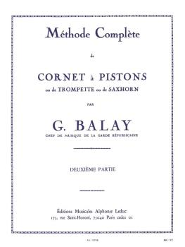 Méthode Compléte de Cornet á Pistons - Volume 2 (for Trumpet) (HL-48180102)