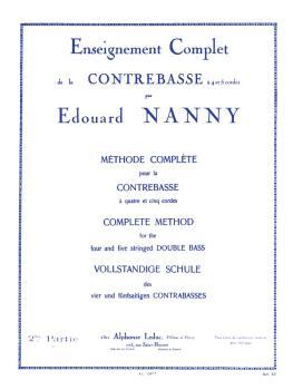 Méthode Compléte pour la Contrebasse - Volume 2: [Complete Method for  (HL-48180108)