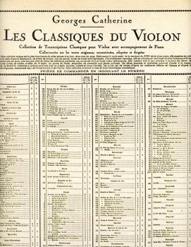 Air Tendre et Gavotte - Classiques No. 134 (for Violin and Piano) (HL-48180110)