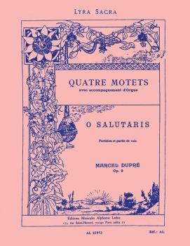 Quatre Motets - O Salutaris, Op. 9 (HL-48180113)
