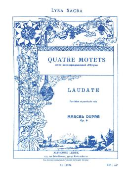 Quatre Motets - Laudate Dominum, Op. 9 No. 4: Choral Mixed Accompanied (HL-48180116)