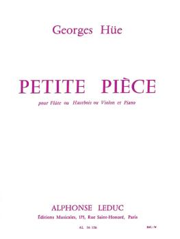 Petite Pièce in G Major (for Flute and Piano) (HL-48180141)