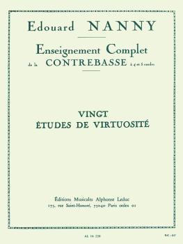Enseignement Complet de la Contrebasse: [Complete Study of the Double  (HL-48180146)