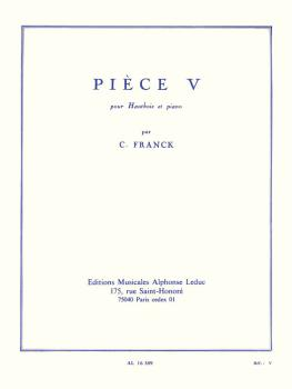 Piece V (for Oboe and Piano) (HL-48180154)