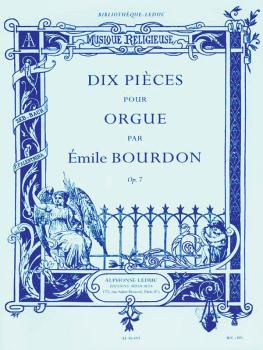 Dix Pieces pour Orgue: [10 Pieces for Organ] (HL-48180167)