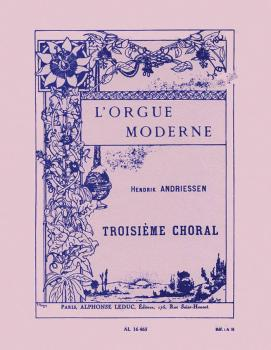 Troisieme Choral (for Organ) (HL-48180169)