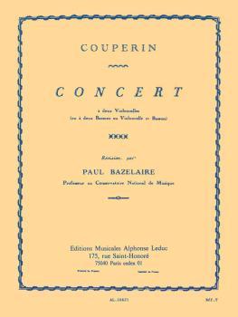 Concert a deux Violoncelles (for Cello Duet) (HL-48180208)