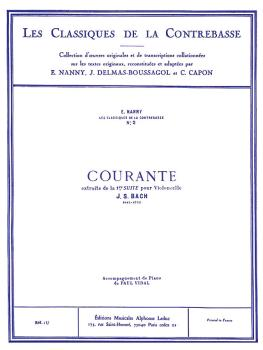 Courante - Classique Contrebasse No. 2, Suite No 1 (for Double Bass) (HL-48180215)