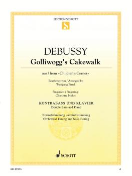 Golliwogg's Cakewalk (from Children's Corner Double Bass and Piano) (HL-49045935)