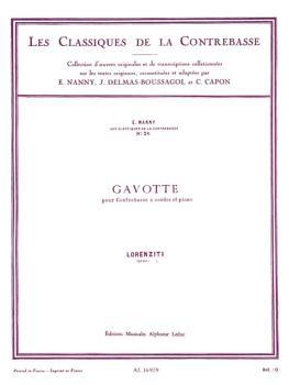 Gavotte - Les Classiques de la Contrebasse (HL-48180250)