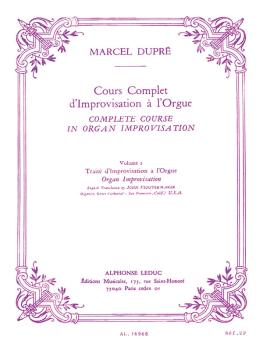 Cours Complet d'Improvisation a l'Orgue - Volume 2: [Complete Course i (HL-48180256)