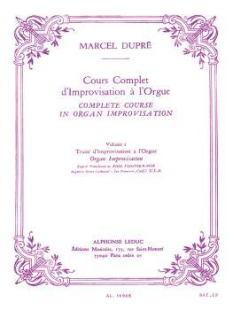 Cours Complet d'Improvisation a l'Orgue - Volume 2: [Complete Course i (HL-48180256)