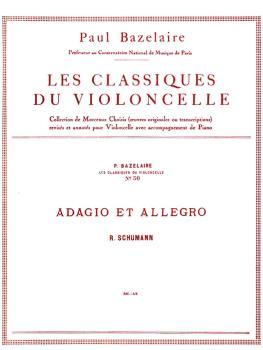 Adagio & Allegro Op. 70 - Classiques No. 50 (for Cello and Piano) (HL-48180257)