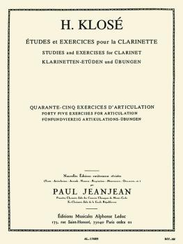Etudes et Exercises pour la Clarinette: [Studies and Exercies for Clar (HL-48180272)
