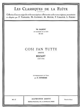Cosi Fan Tutte - Classiques No. 39: Ariette for Flute and Piano (HL-48180288)