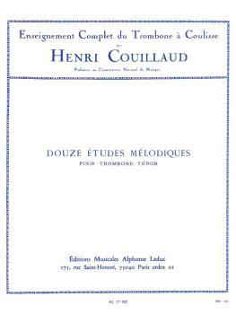 12 Etudes Mélodiques (for Trombone) (HL-48180292)