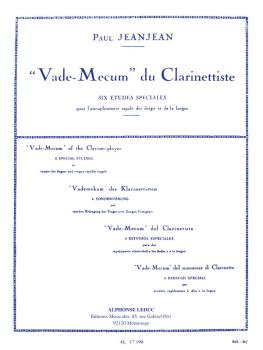 Vade-Mecum du Clarinettiste (for Clarinet Solo) (HL-48180295)
