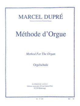 Méthode d'Orgue: [Method for the Organ] (HL-48180304)