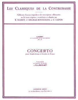Concerto - Classiques No. 29 (for Double Bass and Piano) (HL-48180309)