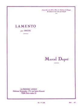 Lamento pour Orgue - Op. 24 (HL-48180315)