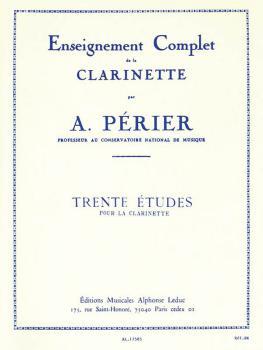 Trente Etudes pour la Clarinette (HL-48180363)