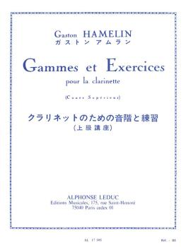 Gammes et Exercises pour la Clarinette (for Clarinet) (HL-48180367)