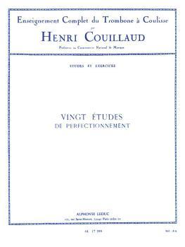 Vingt Etudes de Perfectionnement (for Trombone) (HL-48180370)