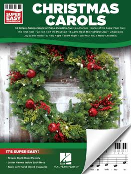 Christmas Carols - Super Easy Songbook (HL-00277955)