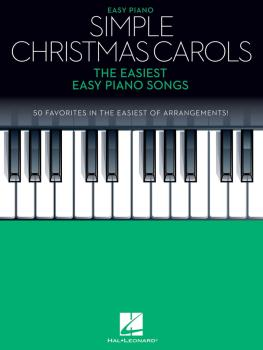 Simple Christmas Carols: The Easiest Easy Piano Songs (HL-00278263)
