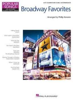 Broadway Favorites - Popular Songs Series: Late Elementary/Early Inter (HL-00279192)