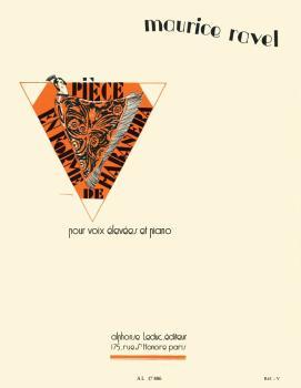 Vocalise en Forme de Habanera - No. 141: Pour Voix Elevees et Piano (HL-48180475)