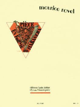 Pièce en Forme de Habanera (for Viola and Piano) (HL-48180476)