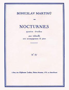 4 Nocturnes - H189, No. 4 (Cello and Piano) (HL-48180506)